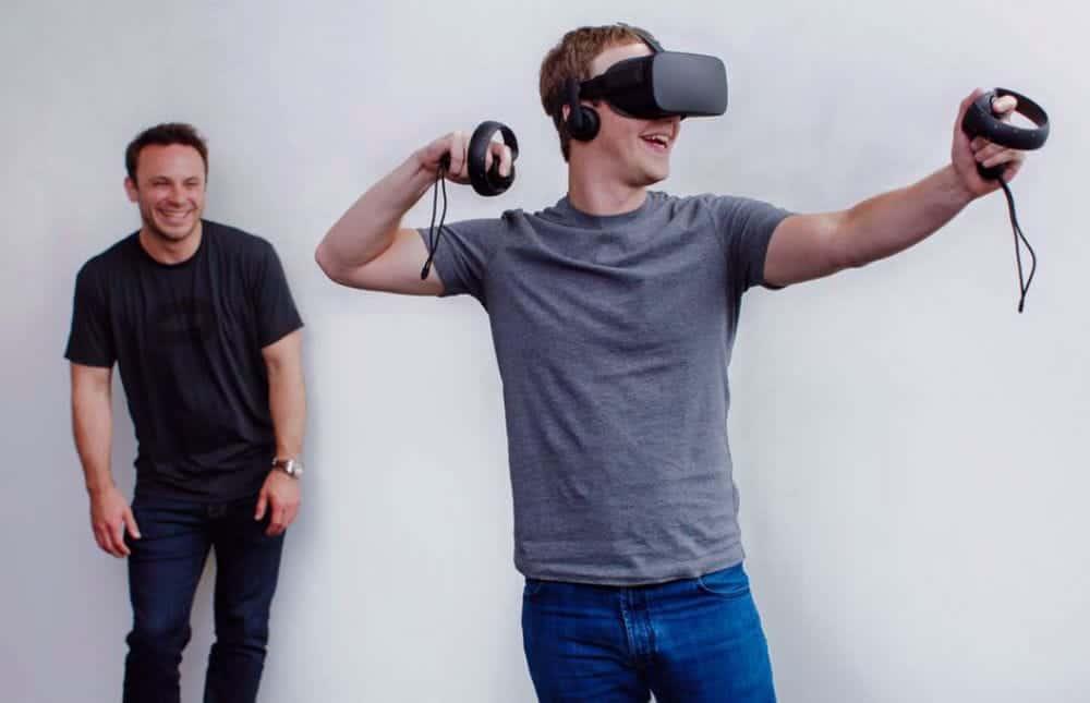 Iribe and Zuckerberg - Oculus/Facebook