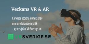 Nyhetsbrev veckans VR & AR