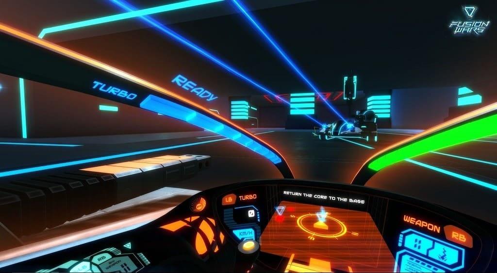 Fusion Wars till Oculus Rift och Gear VR
