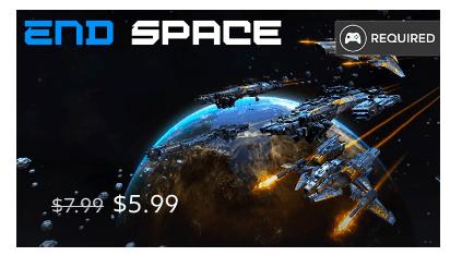 Rea på Gear VR-spel: End Space
