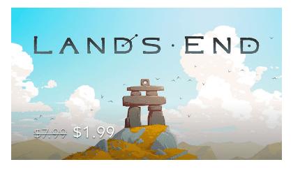 Rea på Gear VR-spel: Lands End