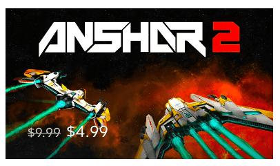 Rea på Gear VR-spel: Anshar Wars 2