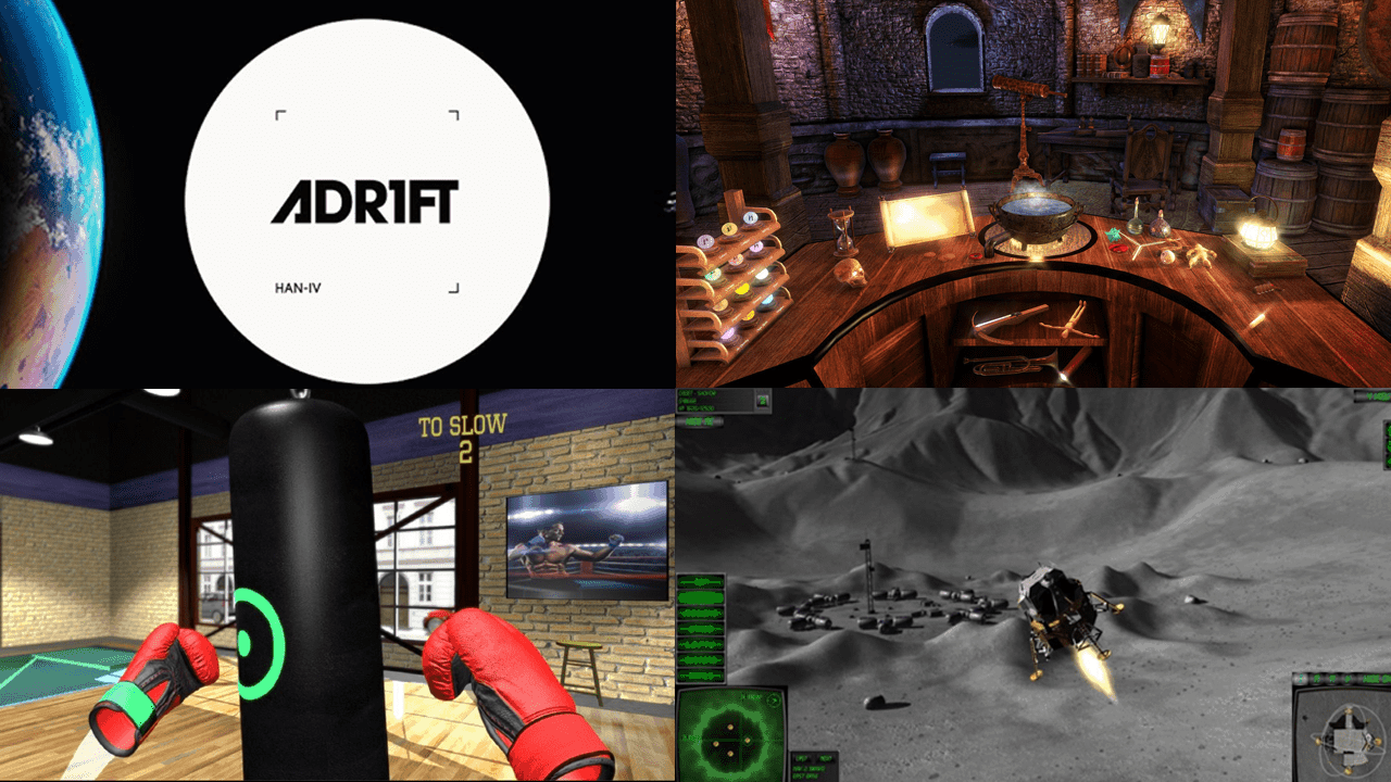 Adr1ft, Lunar Flight, Waltz of the Wizard, VR Boxing Workout