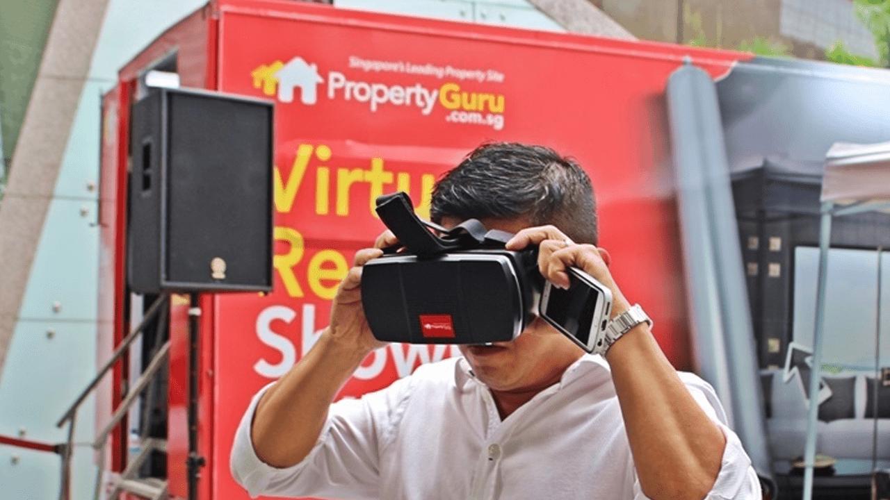 Propertyguru visar bostäder i VR