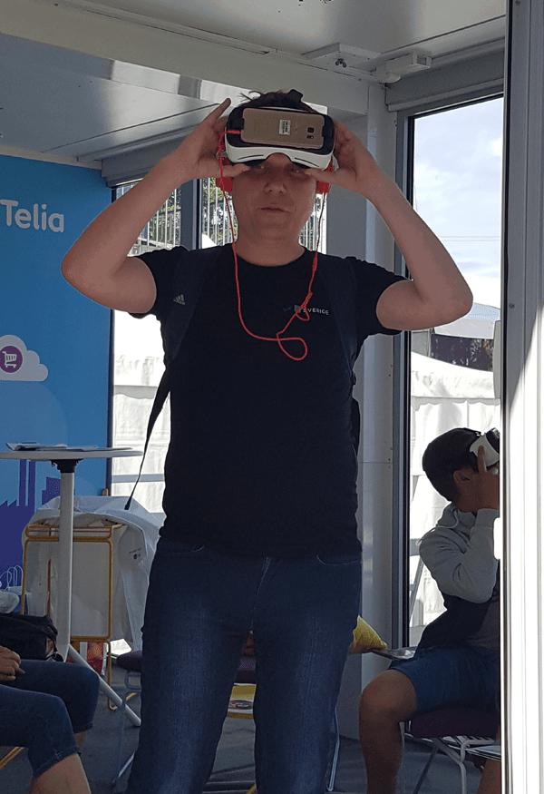Telia använder VR i marknadsföringen