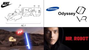 Nike, Samsung, StarWars och Mr Robot