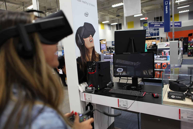Oculus Rift i butik