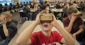 mobil VR i utbildning: cardboard i klassrummet