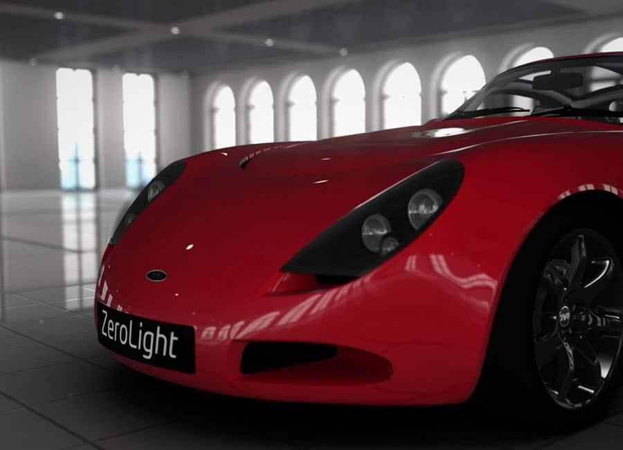 Veckans cardboard: Showroom för bilar
