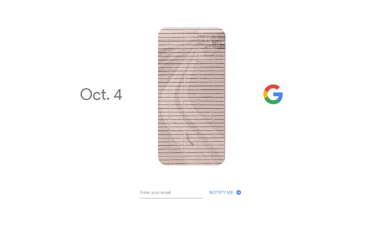 Google 4 oktober