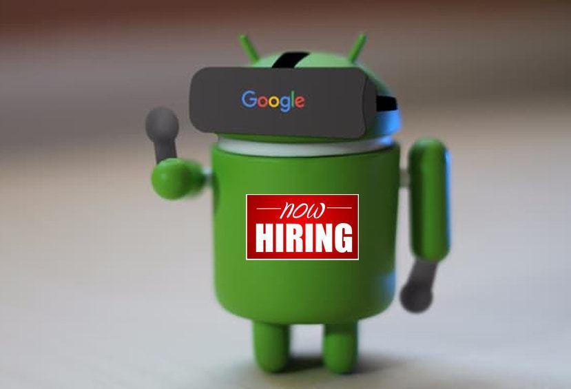 Google söker VR-kompetens