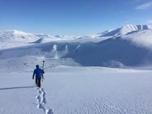 Fredrik Broander arctic mountain