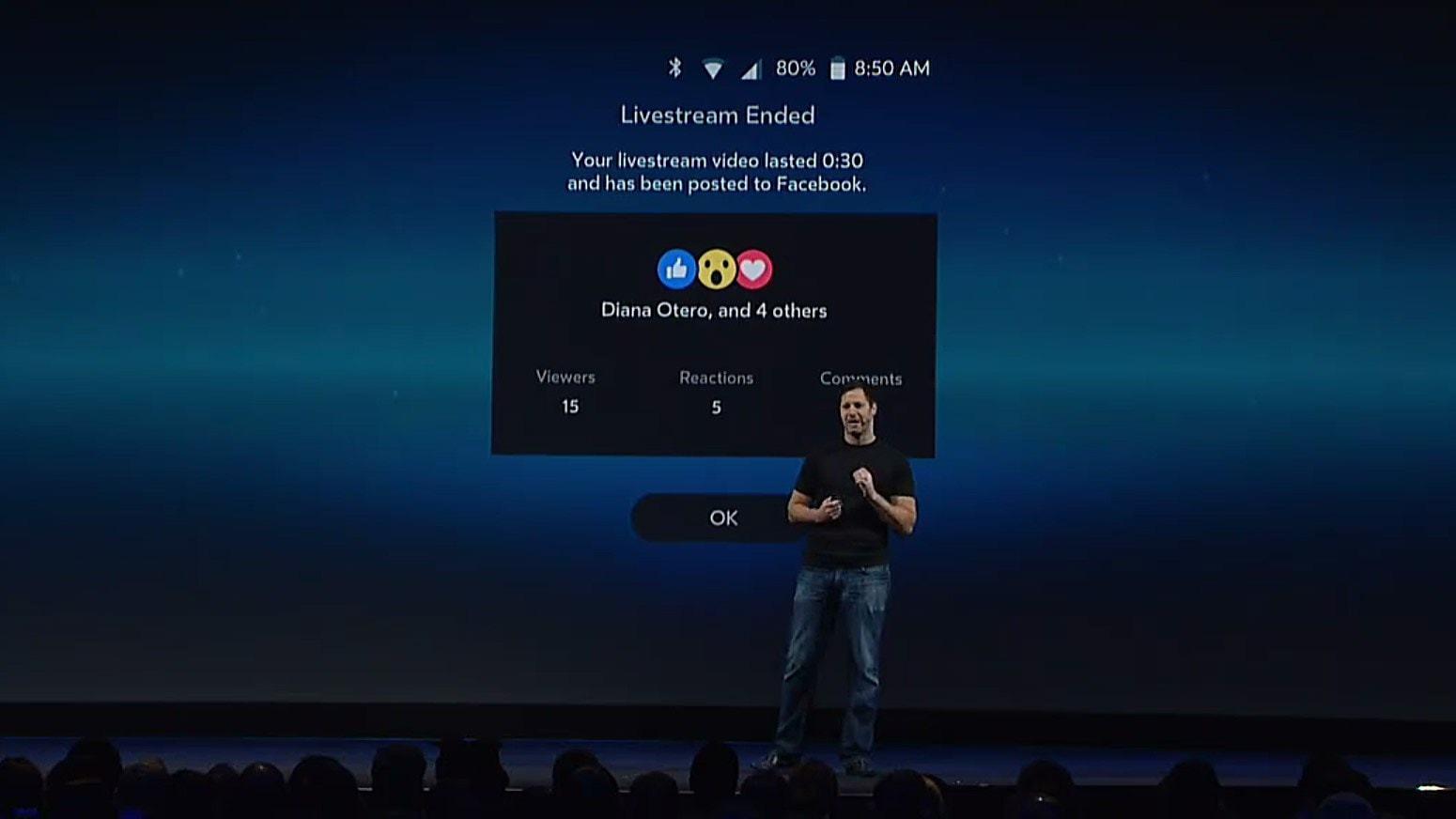 GearVR live på Facebook