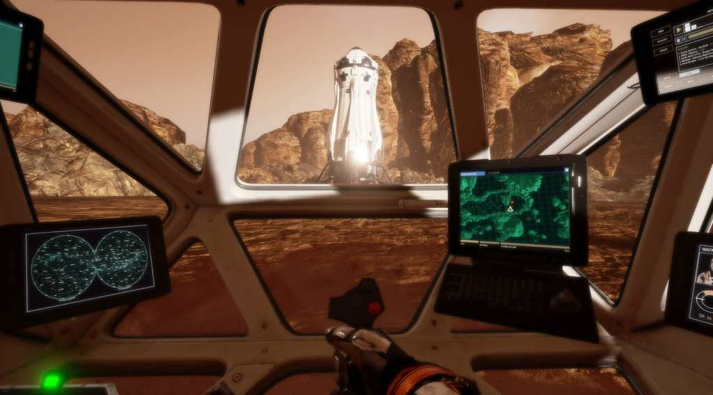 The Martian VR-experience