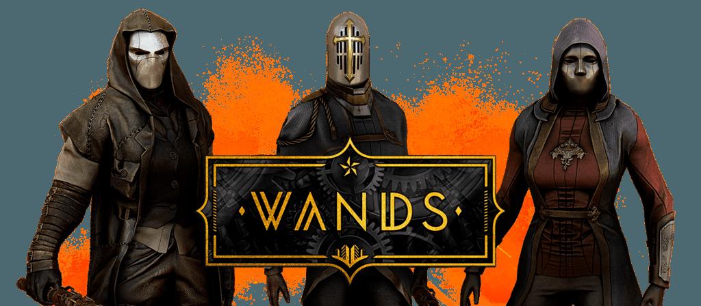 Wands från Multiverses