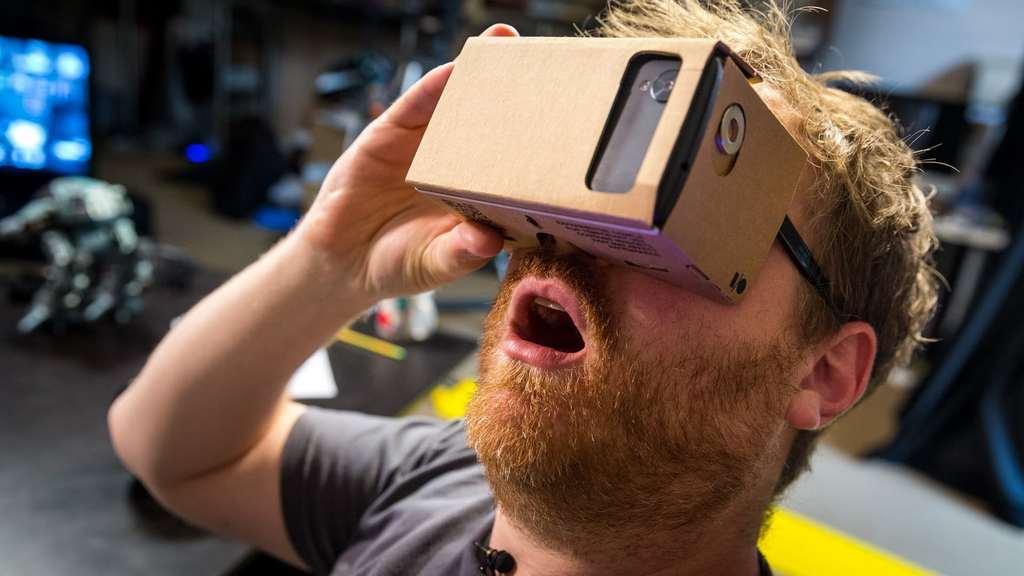Google Cardboard vr-glasögon