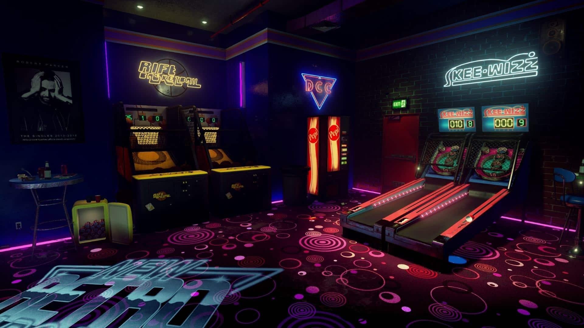 New Retro Arcade: Neon