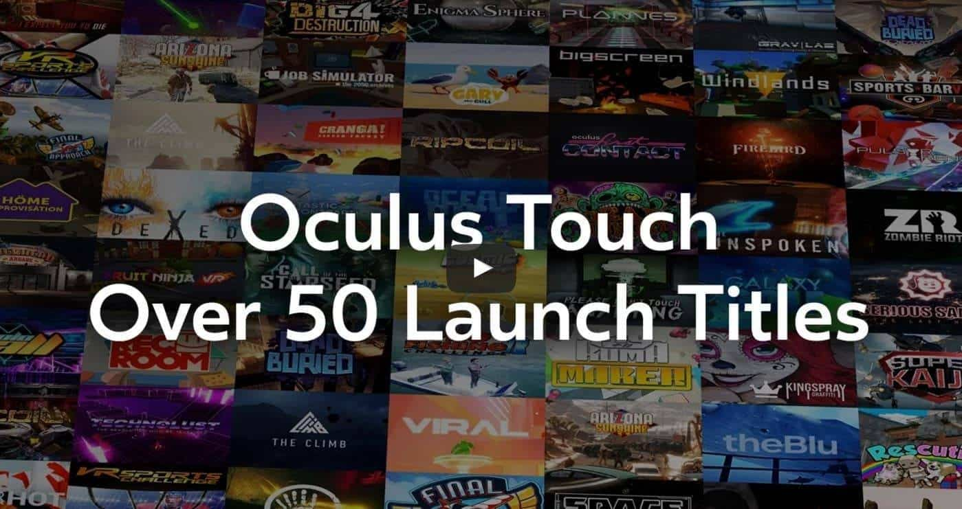 Oculus Touch Launch