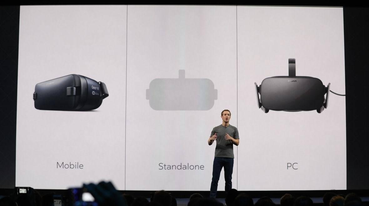 Zuckerberg på Oculus Connect om produkter som ligger mellan mobil och stationär VR