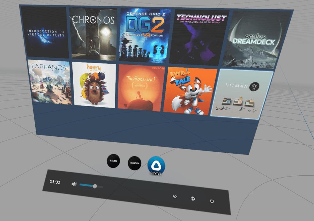 Med ReVive kan du köpa Ouclus-spel till din Vive. Förmodligen inget som varken Steam eller HTC gillar.