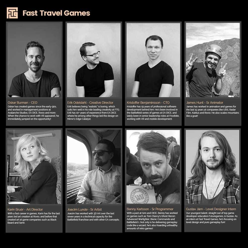 Fast Travel Games team