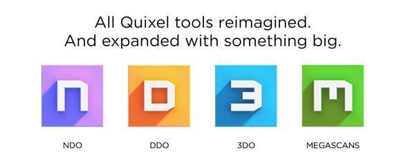 Quixels programvaror
