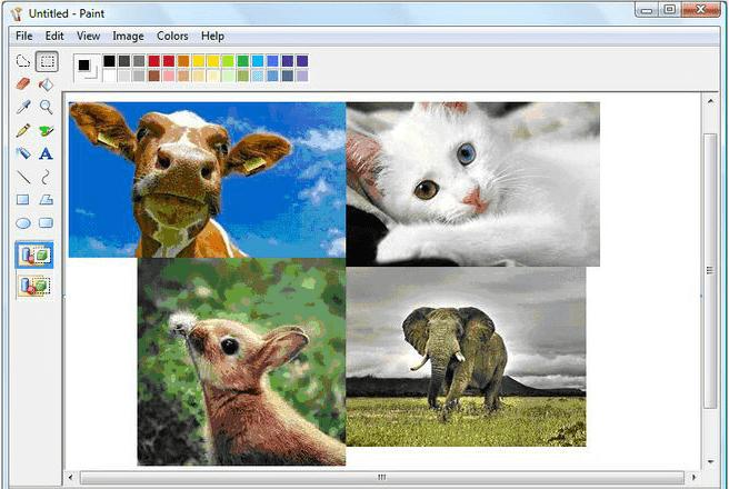 ms paint - en bra förberedelse innan photoshop släpptes