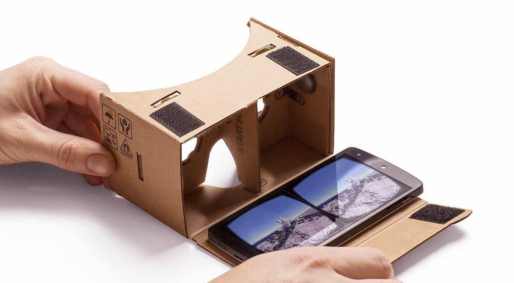 google cardboard vr-glasögon till mobil
