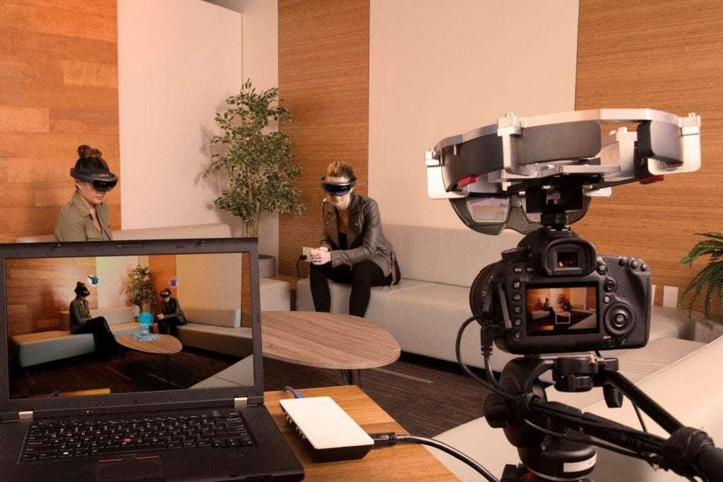 Microsoft bygger in ny funktion för att se vad andra ser i HoloLens