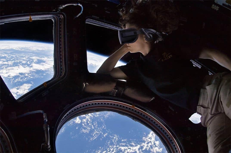 Virtual Reality på väg till rymdstationen ISS