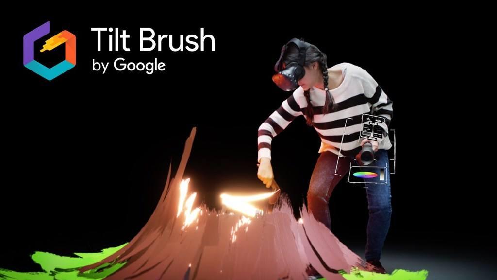 Tilt Brush till HTC Vive - måla i 3d