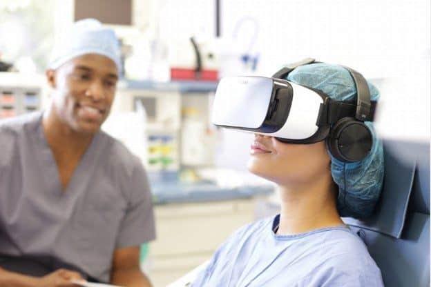 VR för smärtlindring