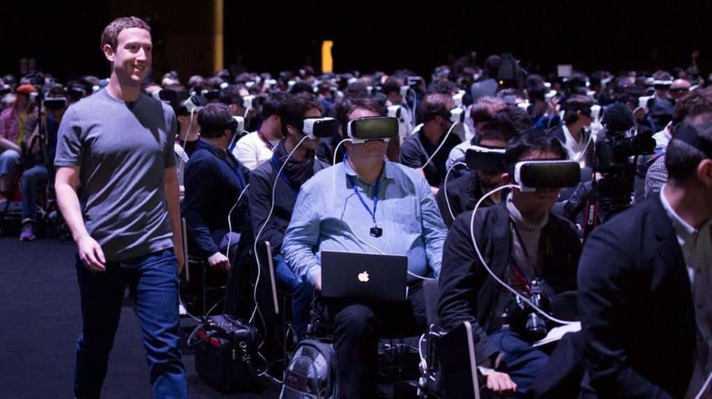 Mark Zuckerberg på Samsung/Oculus-konvent
