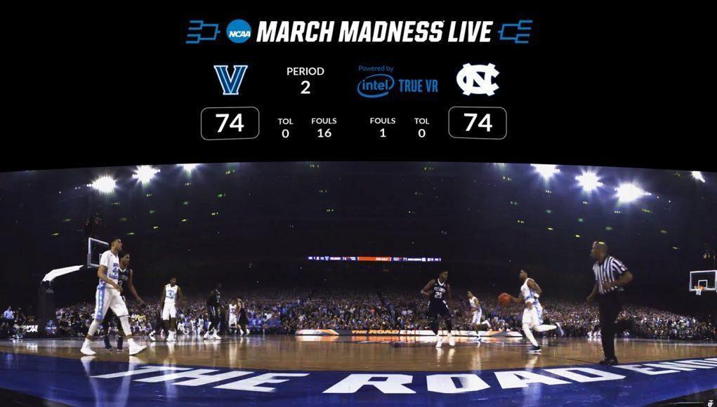 Nu är det dags för er basketfans att ta fram er GearVR igen och titta på helgens NCAA March Madness
