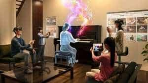 Med Teomirn kan du lära dig spela piano med hjälp av AR