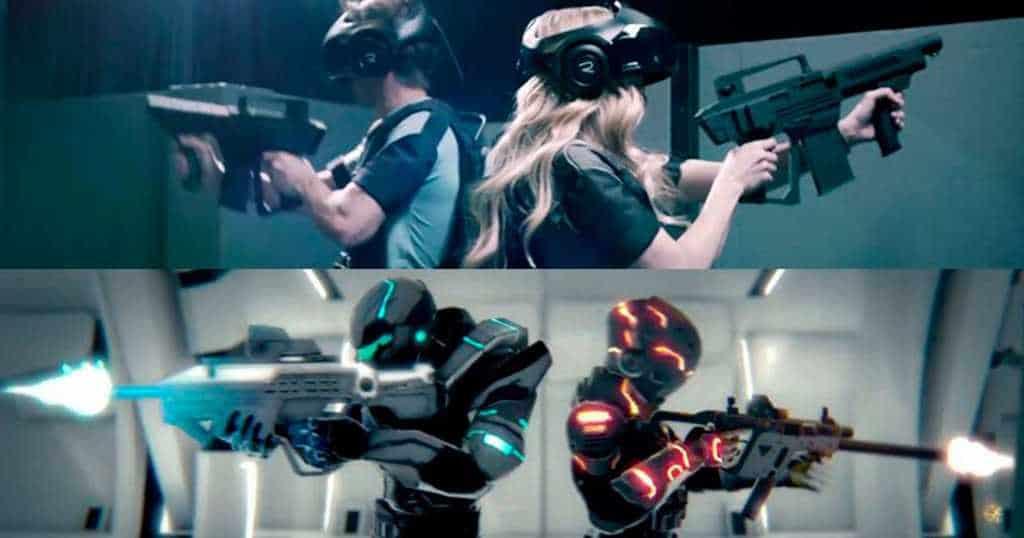 The VOID kombinerar VR med den traditionella lasergame-arenan för att skapa ett unikt underhållningsformat