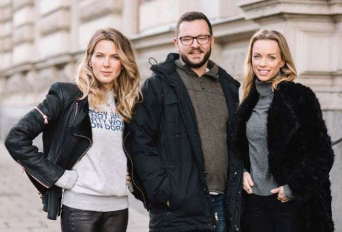 Caroline Roth, Patrik Buckau och Emma af Robson