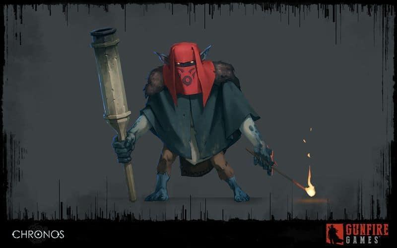 Guide eller fiende? Karaktär från Chronos för Oculus Rift