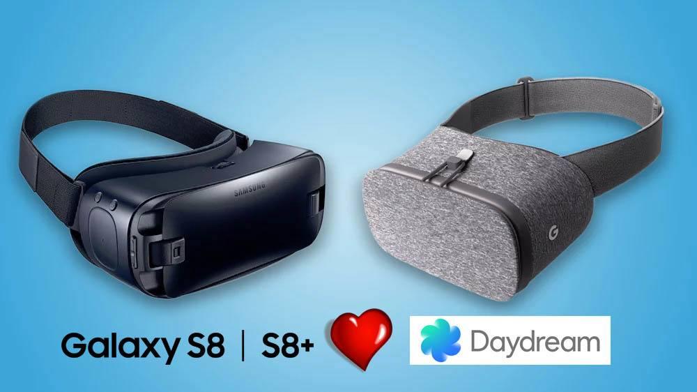 Samsung S8 och S8+ får äntligen Daydream-stöd
