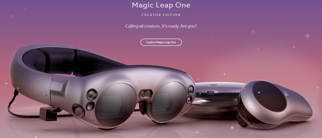 magic leap one släpps till försäljning i USA