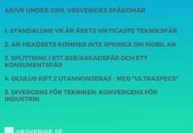 5 spådomar för AR / VR 2018
