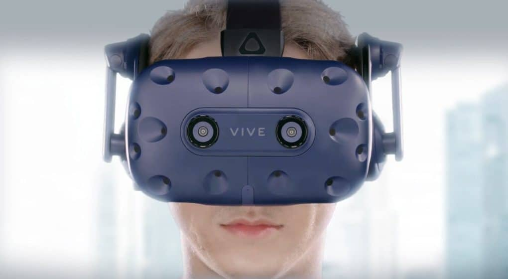 vive pro - VR/AR på CES 2018