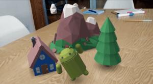Arcore AR-appar till android