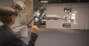 AR inom Automotive-industrin med Volvo Mixed Reality Core Team