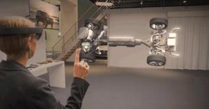 AR inom Automotive-industrin med Volvo Mixed Reality Core Team