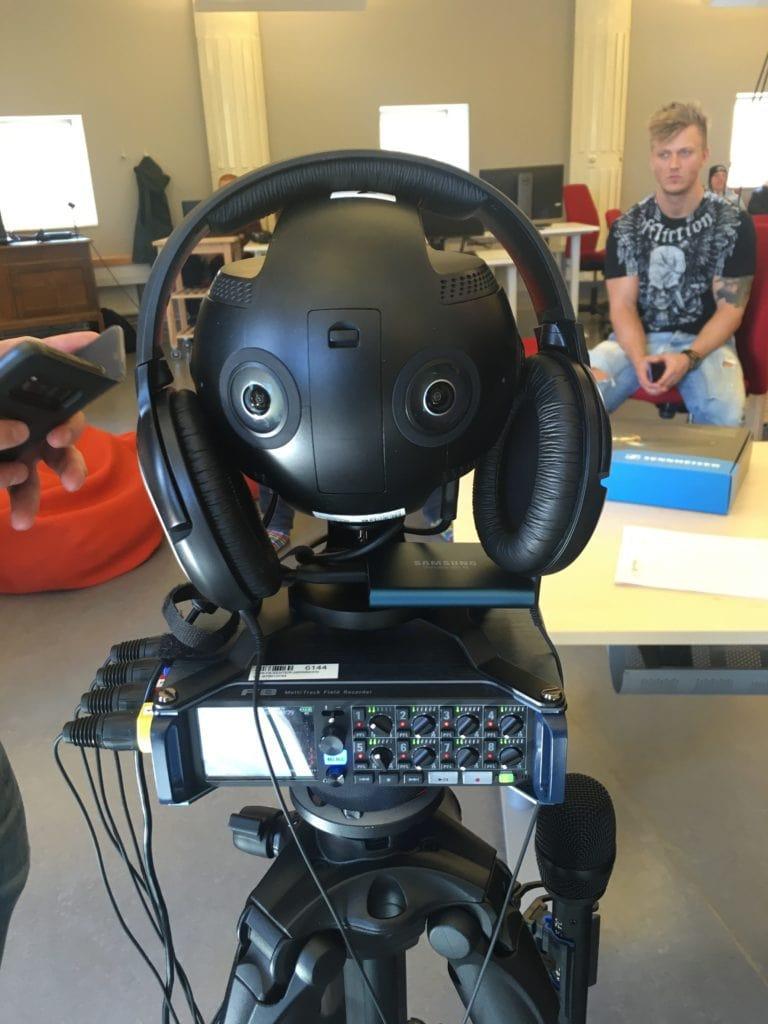 insta360pro: En lite proffsigare rigg för att filma 360