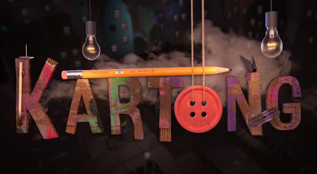 kartong - death by cardboard för HTC vive