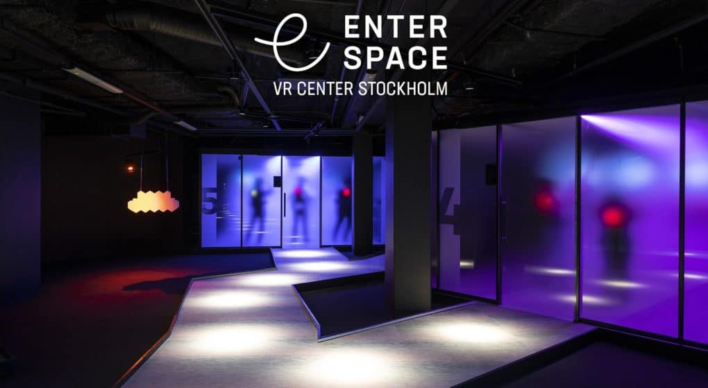 Spelen på Enterspace VR-center Stockholm