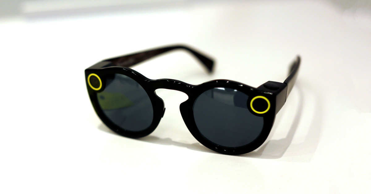 Snap Spectacles för Snapchat