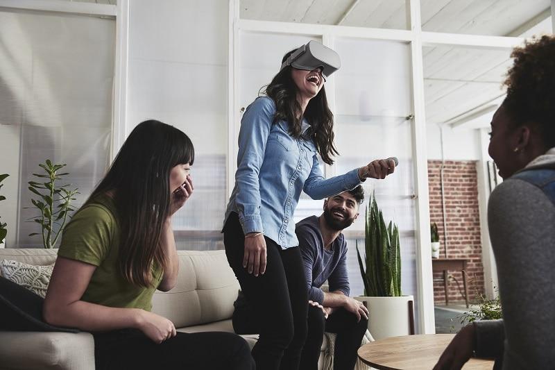 Oculus Go social VR